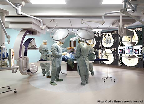 Healthcare - Rendering of a State of the Art Operating Room